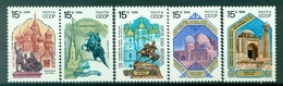 URSS 1989 - Y & T N. 5689/93 - Monuments Historiques - 1923-1991 USSR