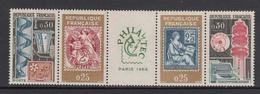 France MNH Michel Nr 1467/70 From 1964 / Catw 1.80 EUR - Ongebruikt