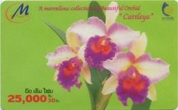 Mobilecard Laos - Orchidee,orchid - 25000 Kip - Laos