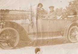 Foto Photo (5,5 X 8cm) 1919 Oldtimer Old-Timer - Cars