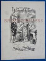 PIANO GF PARTITION XIX BLACKSMITH ANVIL ENCLÛME LA FEMME DU FORGERON EVRARD POIVILLIERS ILL DONJEAN 1894 - Other