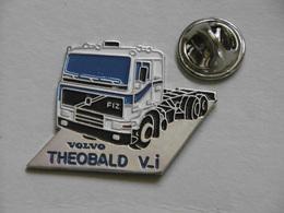 Pin's - Camion Poids-Lourd VOLVO FIZ Transport THEOBALD V.I - Transportation