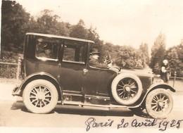 3x Foto 3x Photo (6 X 8cm) Oldtimer Old-Timer Paris 1925 - Automobiles