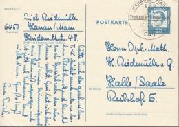 BERLIN  P 62, Gebraucht, Bedeutende Deutsche 1963, Martin Luther - Postkarten - Gebraucht