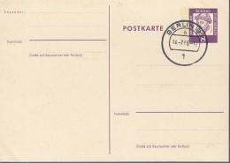 BERLIN  P 56, Gebraucht, Bedeutende Deutsche 1962, Gutenberg - Postkarten - Gebraucht