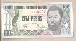 Guinea Bissau - Banconota Non Circolata Da 100 Pesos  P-11 -1990 - Guinea–Bissau