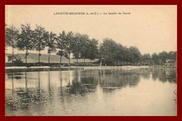 La Motte-beuvron   Le Bassin Du Canal      ( Scan Recto Et Verso ) - Lamotte Beuvron