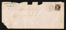 United States - Cover 10-9 Used - With Eclosure: Property Tax Receipt - 1847-99 Algemene Uitgaves