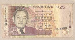 Mauritius - Banconota Circolata Da 25 Rupie P-49a - 1999 - Mauritius