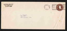 United States - Cover 10-12 Used - Brieven En Documenten