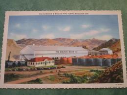 BOULDER DAM - The Babcock & Wilcox Pipe Plant - Etats-Unis