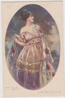 Lo Scialle, Illustratore Luigi BOMPARD - F.p. -  Anni '1910 - Bompard, S.