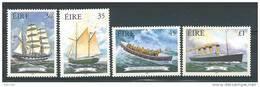 Irlande 1999 N°1137/1140 Neufs **  Histoire De La Marine, Bateaux - 1949-... République D'Irlande