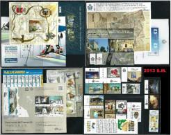 SAN MARINO - 2013 - Annata Completa - 16 Valori + 8 BF - Year Complete ** MNH/VF - Annate Complete