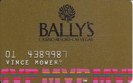 Bally's Casino - Las Vegas, NV - 4th Issue Slot Card - Casino Cards