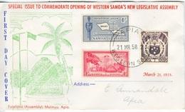 SAMOA  FDC - Samoa (Staat)