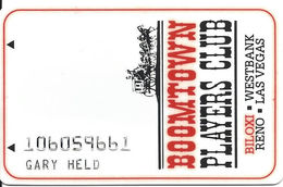 Boomtown Biloxi Casino - Biloxi, MS - 2a Issue Slot Card - Check Details On Back Phone#s   ....[RSC]..... - Casino Cards