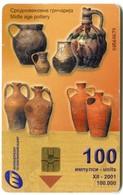 MK-MAT-0042  Makedonski Telekomunikacii - Midle Age Pottery - Macedonia