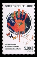 Ecuador 2015 Mih. 3729 Day For The Elimination Of Violence Against Women (joint Issue) MNH ** - Ecuador