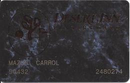 Desert Inn Casino - Las Vegas NV - Rare 4th Issue Slot Card With Cameo Mfg Mark Over Mag Stripe - Casino Cards