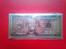 USA Banknotes Set Of 4 - Magneti