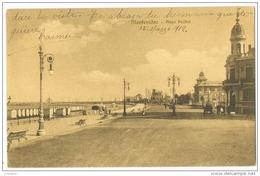 Montevideo - Playa Pocitos - Circulado 1912 - Uruguay ( 2 Scans ) - Uruguay