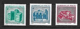 AZERBAIDJAN 1994 MONUMENTS  DE BAKOU  YVERT N°116/18  NEUF MNH** - Azerbaïdjan