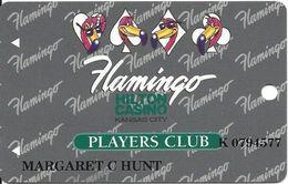 Flamingo Hilton Casino - Kansas City MO - Rare 3rd Issue Slot Card - Casino Cards