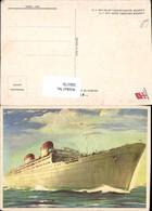 566176,Schiff Hochseeschiff Dampfer Conte Grande Conte Biancamano Italia - Handel