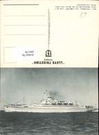 566179,Schiff Hochseeschiff Dampfer M/S Victoria Motorschiff Lloyd Triestino Trieste - Handel