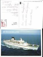 566191,Schiff Hochseeschiff Dampfer MS Switzerland - Handel