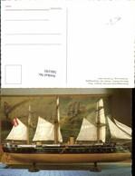 566195,Schiff Kriegsschiff Modell Panzerfregatte Erzherzog Ferdinand Max Marine Heere - Handel