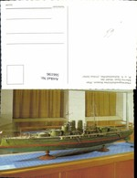 566196,Schiff Kriegsschiff Modell Kk Schlachtschiff Viribus Unitis Heeresmuseum Wien - Krieg