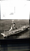 566199,Foto Ak Schiff Kriegschiff Dampfer Hr. Ms. Vliegkampschip Karel Doorman Na De - Krieg