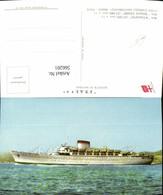 566201,Schiff Hochseeschiff Dampfer M/n Augustus M/n Giulio Cesare Societa Di Navigaz - Handel
