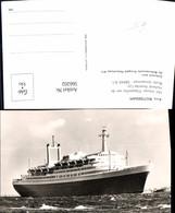 566202,Foto Ak Schiff Hochseeschiff Dampfer D.s.s. Rotterdam Holland Amerika Lijn - Handel