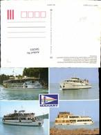 566203,Mehrbild Ak Schiff Hochseeschiff Dampfer Mahart Magyar Hajozasi Reszvenytarsas - Handel
