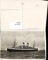 566211,Schiff Hochseeschiff Dampfer M. S. Monte Cervantes - Handel