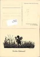 567564,Künstler AK Josefine Allmayer Scherenschnitt Silhouette Künstlerkarte 119 - Scherenschnitt - Silhouette