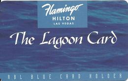Flamingo Hilton Casino - Las Vegas NV - TC6 Issue Slot Card - Casino Cards