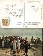 566264,Künstler Ak Feyen-Perrin Fischerei Fischen Retour De La Peche Aux Huitres Pub - Fischerei