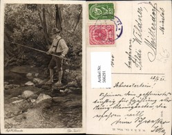 566291,Künstler Ak J. E. Hörwarter Der Fischer Fischerei Fischen Angeln - Fischerei