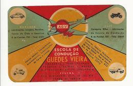 Calendar * Portugal * 1964 * Escola De Condução Guedes Vieira - Calendars