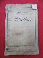 LIVRET MILITAIRE CAPORAL BLACHIER DE GLUIRAS ARDECHE COMPAGNIE DES CHEMINS DE FER - Documentos