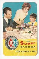 Calendar * Portugal * 1962 * Super Gasosa BB * Folds - Calendars