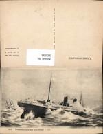 565998,Schiff Hochseeschiff Dampfer Transatlantique Par Gros Temps Segelschiff I. Hin - Handel