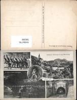 566306,Mehrbild Ak Bergbau Hallein Salzbergwerk Dürrnberg Stollenfahrt Salzsee Ausfah - Bergbau