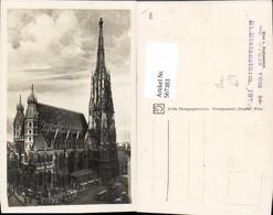 567383,Wien Vienna Stephansdom Bus - Kirchen U. Kathedralen