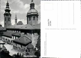 567384,Salzburg Erzabtei St Peter Außenansicht D. Abteikirche V. Südosten - Kirchen U. Kathedralen