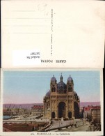 567387,Marseille La Cathedrale Kathedrale Kirche Am Hafen - Kirchen U. Kathedralen